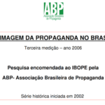 Imagem da capa do documento: A imagem da propaganda no Brasil.