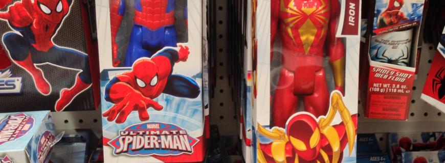 Hasbro – Iron Man e Spider Man (janeiro/2010)