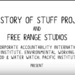 Imagem do vídeo: The Story of Bottled Water.