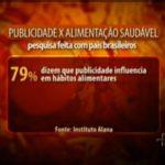 Imagem do vídeo: Influência da publicidade nos hábitos alimentares - Jornal da Cultura.