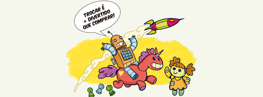Registros das Feiras de Trocas em todo o Brasil!