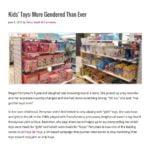 """Foto de matéria em inglês: """"Kids' Toys: More Gendered Than Ever"""""""