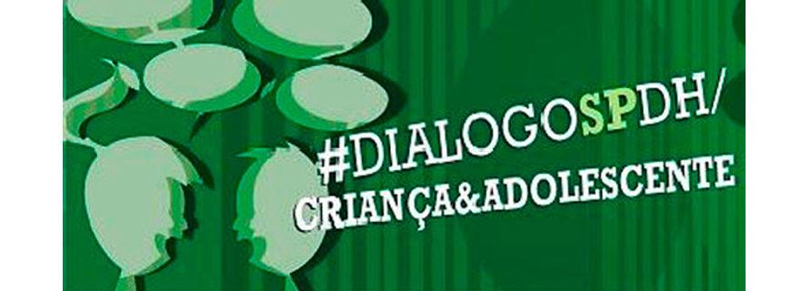 Dialógo sobre os direitos das crianças e adolescentes