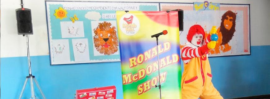 Arcos Dourados Comércio de Alimentos Ltda. (Mc Donald's) – Show do Ronald (agosto/2013)