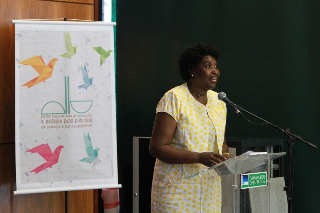 Deputada Benedita da Silva (Foto: Laura Leal/ Instituto Alana)