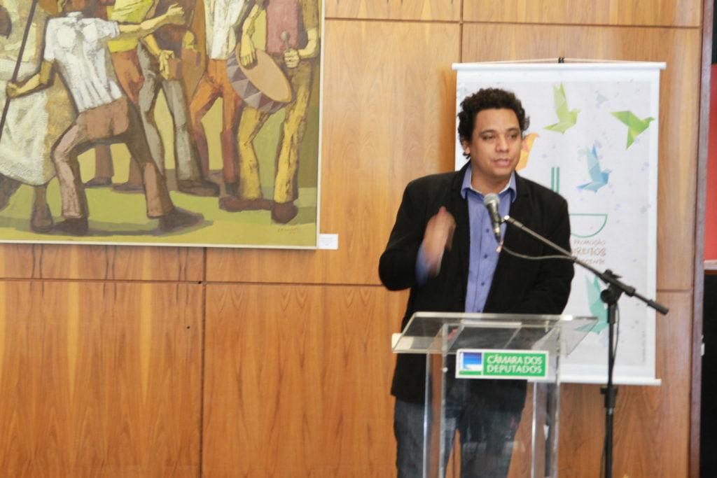 Marcos Urupa, do Intervozes (Foto: Laura Leal/ Instituto Alana)