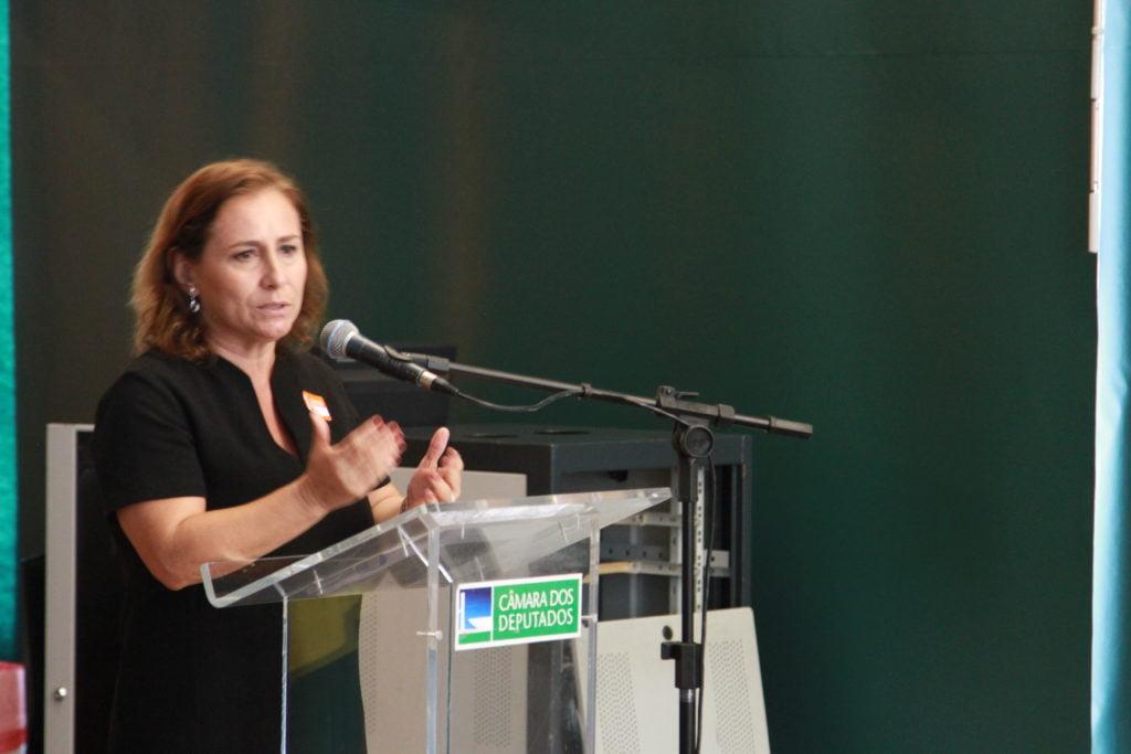 Miriam Pragita, Diretora Executiva da ANDI Comunicação e Direitos (Foto: Laura Leal/ Instituto Alana)