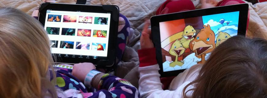 Uma tela já é ruim o suficiente para bebês