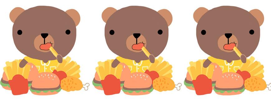 Publicidade de junk food afeta mais as crianças