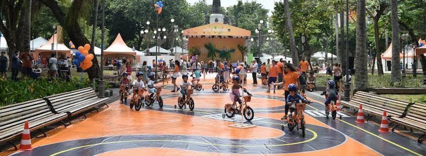Banco Itaú – Escolinha de Bike (maio/2016)