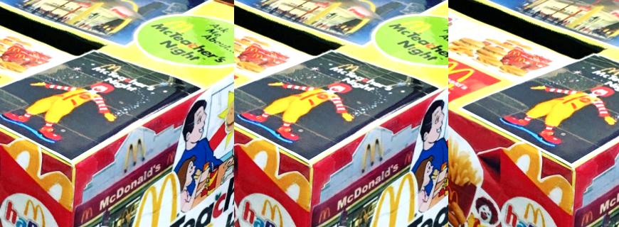 Para se promover, McDonald's usa professores para vender lanches nos EUA