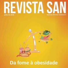 Imagem da capa da revista: Revista San. Da fome à obesidade.