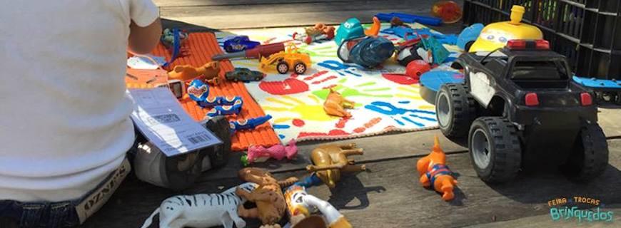 Dia das Crianças: Feira de Trocas de Brinquedos em todo o Brasil