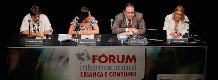 Blog reúne materiais do 3º Fórum Internacional Criança e Consumo de 2010