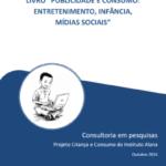 """Capa do livro: """"Publicidade e consumo: Entretenimento, Infância, Mídias Sociais""""."""