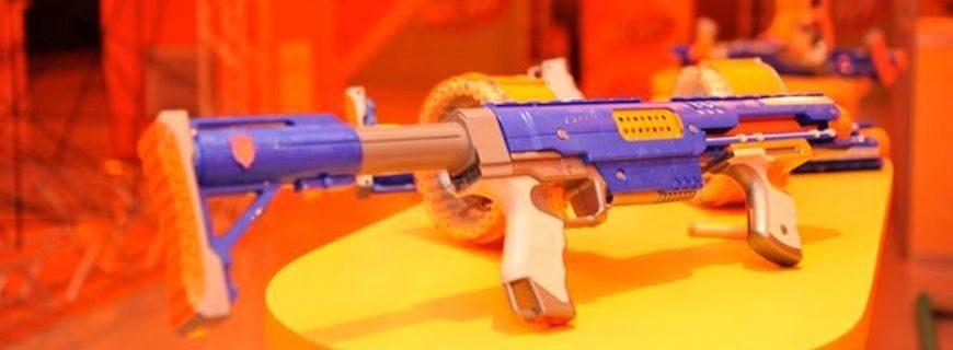 Hasbro promove linha Nerf camuflada em entretenimento