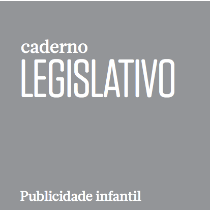 Imagem da capa do: Caderno Legislativo. Publicidade infantil.