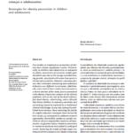 Imagem da capa do documento: Estratégias para prevenção da obesidade em crianças e adolescente.
