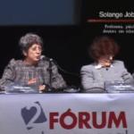 Imagem do vídeo: Solange Jobim - segundo Fórum Internacional Criança e Consumo.