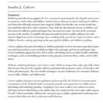 Imagem da capa do documento em inglês: Children as Consumers: Advertising and Marketing.