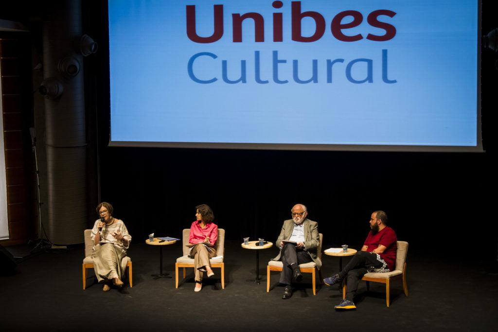 Neca Setubal, Ekaterine Karageorgiadis, Danilo Miranda, Pedrinho Fonseca. Foto: Rodolfo Goud