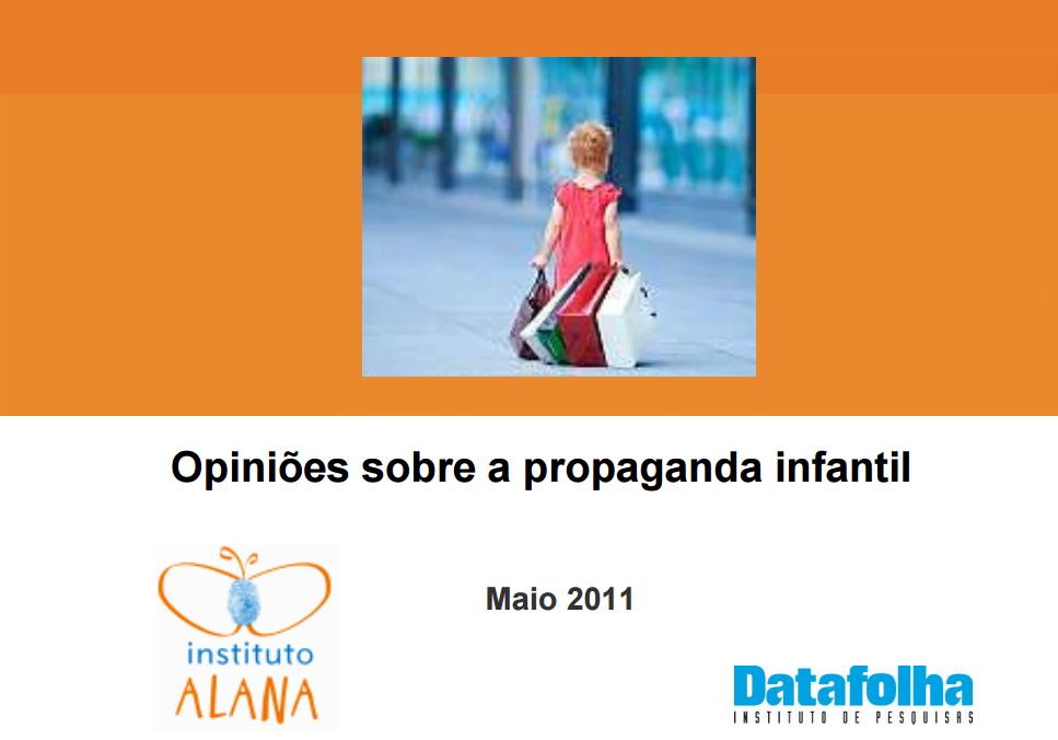 Imagem da capa da apresentação: Opiniões sobre a propaganda infantil.