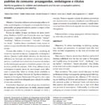 Imagem da capa do documento: Orientação nutricional de crianças e adolescentes e os novos padrões de consumo: propagandas, embalagens e rótulos.