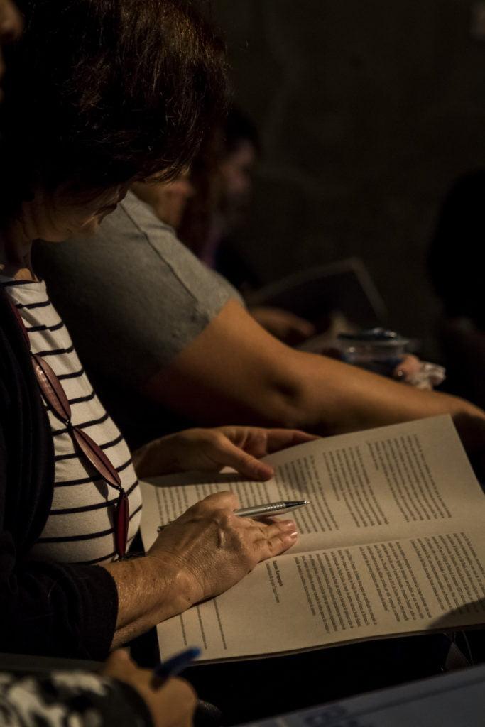 Lançamento do relatório. Foto: Rodolfo Goud