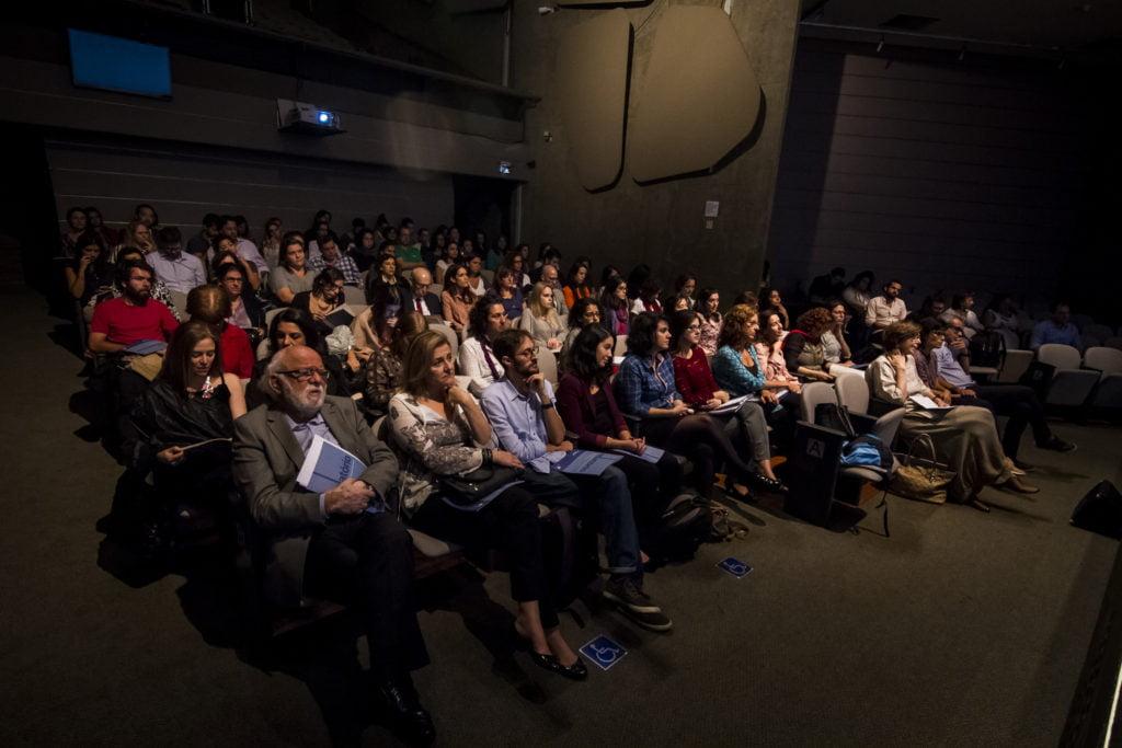 Lançamento do relatório na Unibes Cultural, em São Paulo. Foto: Rodolfo Goud