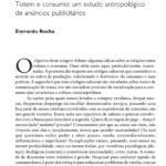 Imagem da capa do documento: Totem e consumo: um estudo antropológico de anúncios publicitários.
