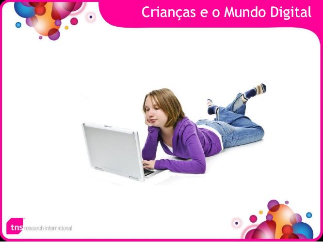 Imagem capa da apresentação Crianças e o Mundo Digital.