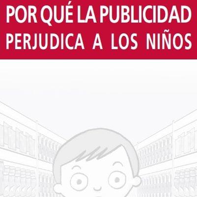 Imagem da capa do livro em espanhol: Por qué la publicidad perjudica a los niños.