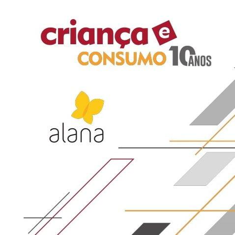 Imagem da capa da apresentação: Criança e consumo 10 anos. Alana.