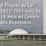 Imagem do vídeo: PL 5921 completa 14 anos na Câmera.