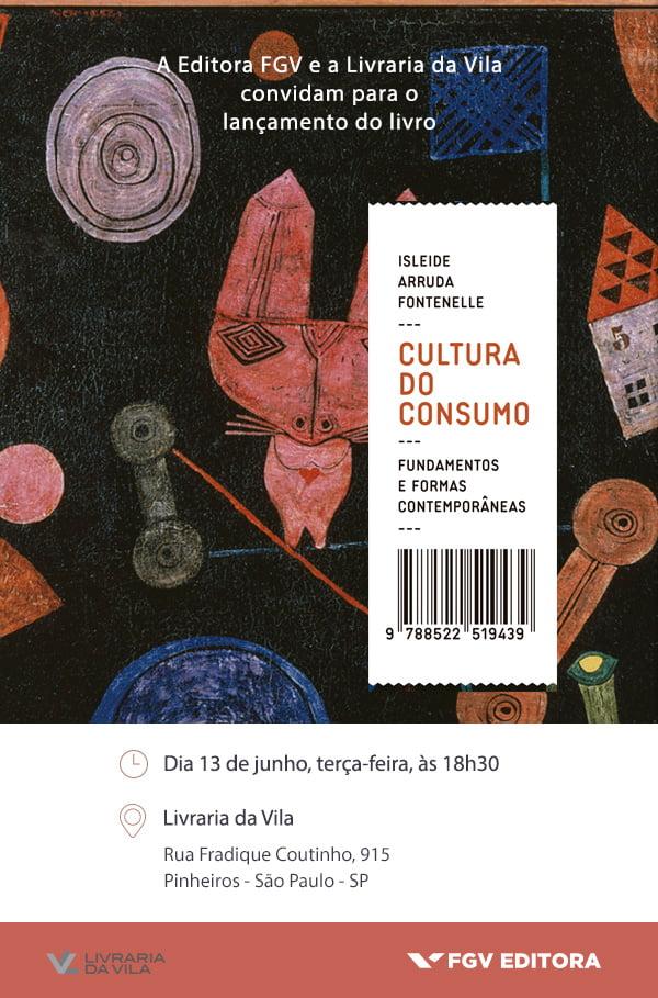 -Convite Lançamento-Cultura do Consumo