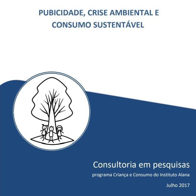imagem da capa do livro: Publicidade, crise ambiental e consumo sustentável.
