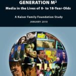 Capa do livro em inglês: Generation M². Media in the Lives of 8- to 18 - year - Olds.
