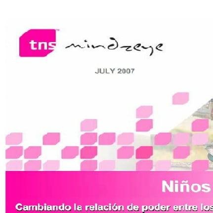 Imagem da capa da apresentação em Espanhol: Niños Mandan! Cambiando la relación de poder entre loos niños y las madres latino Americanas.