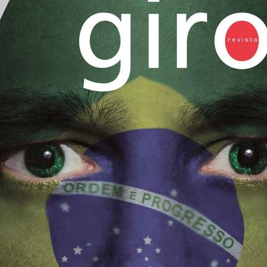 Capa da revista Giro: A caminho das eleições.