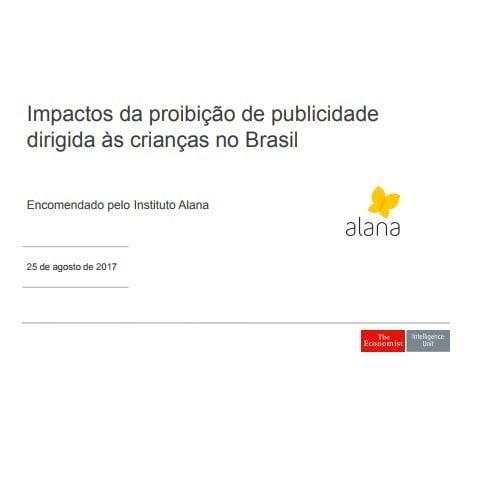 Imagem da capa do documento: Impactos da proibição de publicidade dirigida às crianças no Brasil.