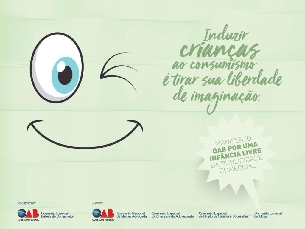Cartaz da campanha da OAB