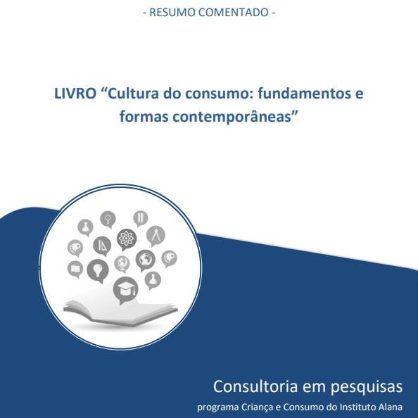 """Capa do livro: """"Cultura do consumismo: fundamentos e formas contemporâneas""""."""