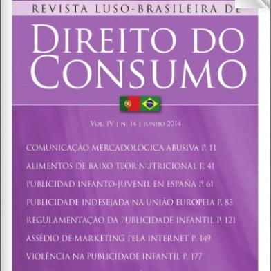 Capa da revista: Direito do Consumo.