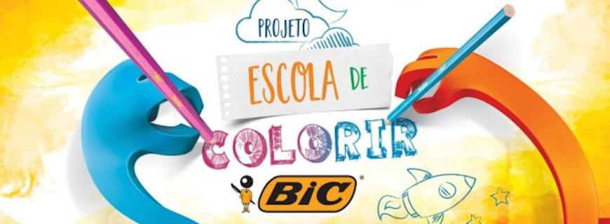 Bic – Projeto Escola de Colorir Bic (outubro/2017)