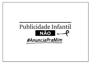 Cartaz da campanha #AnunciaPraMim para baixar, imprimir e compartilhar nas redes sociais
