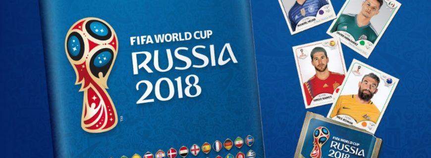 Panini – Álbum da Copa do Mundo FIFA 2018 (junho/2018)