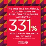 publicidade infantil aumenta 331%