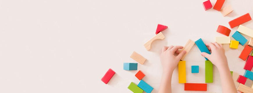 Brincadeiras criativas são fundamentais para a infância